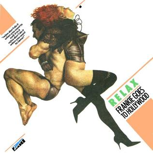 Single album art for Frankie Goes to Hollywood Relax